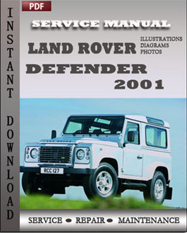 Land Rover Defender 2001 manual