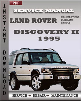 Land Rover Discovery 2 1995 manual