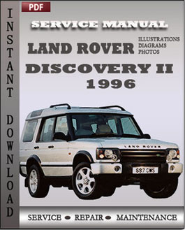Land Rover Discovery 2 1996 manual