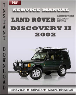 Land Rover Discovery 2 2002 manual