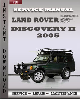 Land Rover Discovery 2 2005 manual