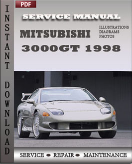 Mitsubishi 3000GT 1998 manual