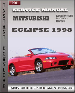 Mitsubishi Eclipse 1998 manual