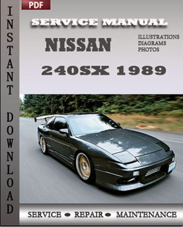Nissan 240SX 1989 manual