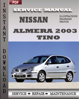Nissan Almera 2003 Tino manual
