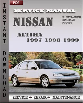 Nissan Altima 1997 1998 1999 manual
