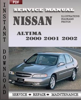 Good Nissan Altima 2001 2002 Service Repair Servicerepairmanualdownload Com Rh  Servicerepairmanualdownload Com 2002 Nissan Altima Repair Manual