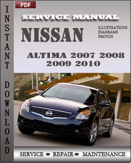 Nissan Altima 2007 2008 2009 2010 Hybrid manual