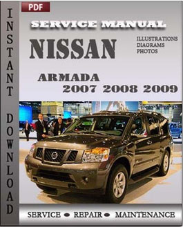 Nissan Armada 2007 2008 2009 manual