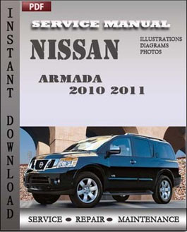 Nissan Armada 2010 2011 manual