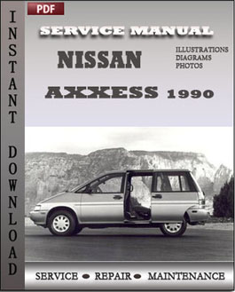 Nissan Axxess 1990 manual