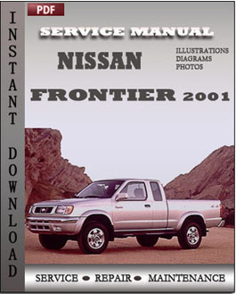 Nissan Frontier 2001 manual