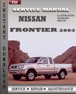 Nissan Frontier 2003 manual