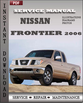 Nissan Frontier 2006 manual