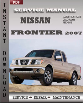 Nissan Frontier 2007 manual