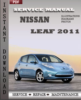 Nissan Leaf 2011 manual