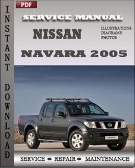 Nissan Navara 2005 manual