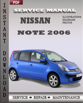 Nissan Note 2006 manual