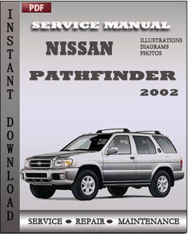 Nissan Pathfinder 2002 manual