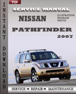 Nissan Pathfinder 2007 manual