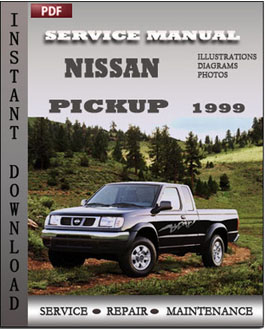 Nissan Pickup 1999 manual