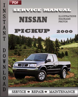 Nissan Pickup 2000 manual