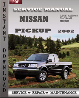 Nissan Pickup 2002 manual