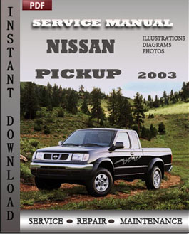 Nissan Pickup 2003 manual