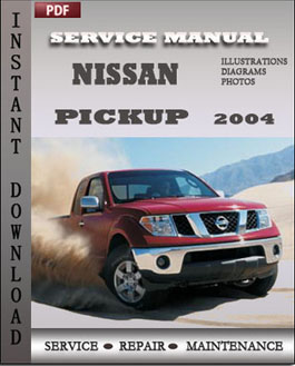 Nissan Pickup 2004 manual