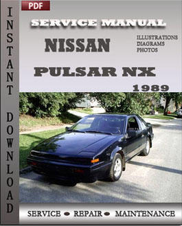 Nissan Pulsar NX 1989 manual