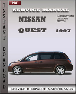 Nissan Quest 1997 manual