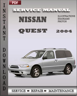 Nissan Quest 2004 manual