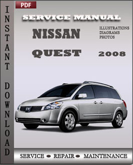 Nissan Quest 2008 manual