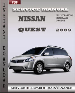 Nissan Quest 2009 manual
