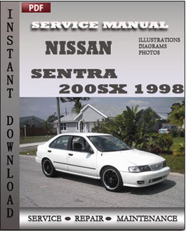 Nissan Sentra 200SX 1998 manual