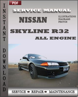 Nissan Skyline R32 All Engine manual