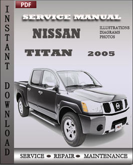 Nissan Titan 2005 manual