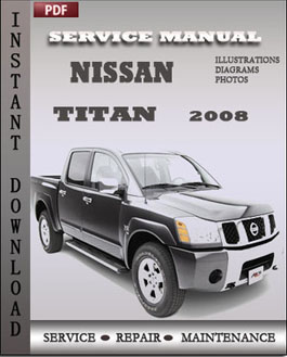 Nissan Titan 2008 manual