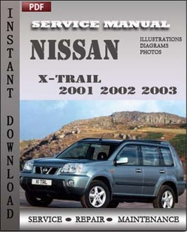Nissan X-trail 2001 2002 2003 manual