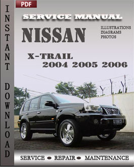 Nissan X-trail 2004 2005 2006 manual