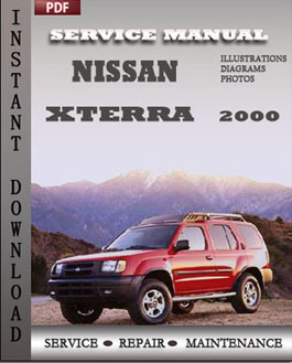 Nissan Xterra 2000 manual