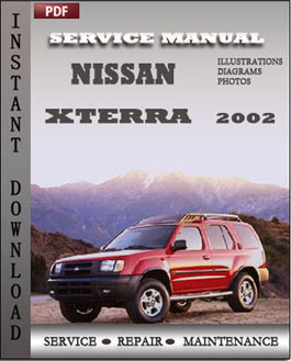 Nissan Xterra 2002 manual