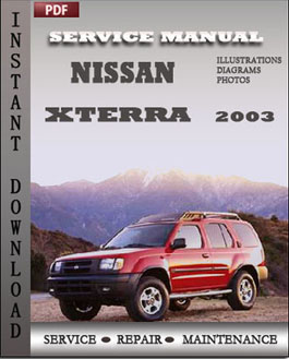 Nissan Xterra 2003 manual