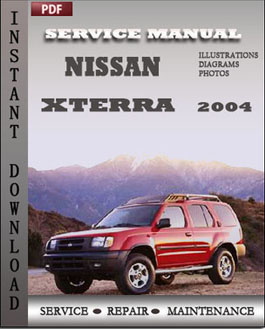 Nissan Xterra 2004 manual