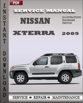 Nissan Xterra 2005 manual