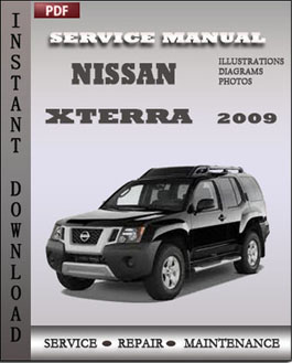 Nissan Xterra 2009 manual