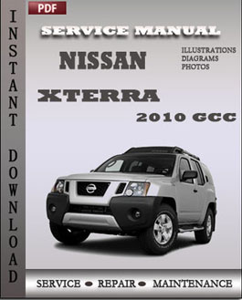 Nissan Xterra 2010 GCC manual