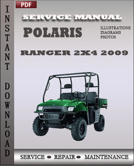 Polaris Ranger 2x4 2009 manual