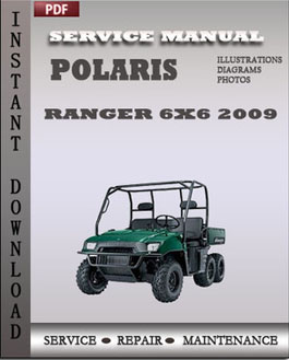 Polaris Ranger 4x4 Crew 2009 Ranger 6x6 2009 manual