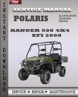 Polaris Ranger 500 4x4 EFI 2009 manual